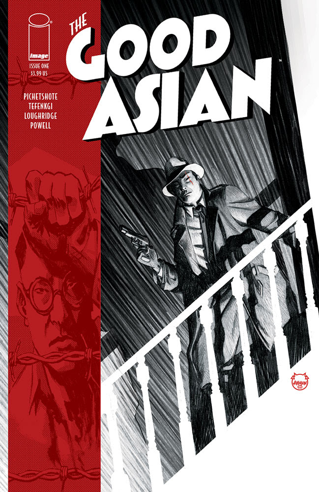 Hard-boiled THE GOOD ASIAN is coming from Pichetsote and Tefenkgi this May