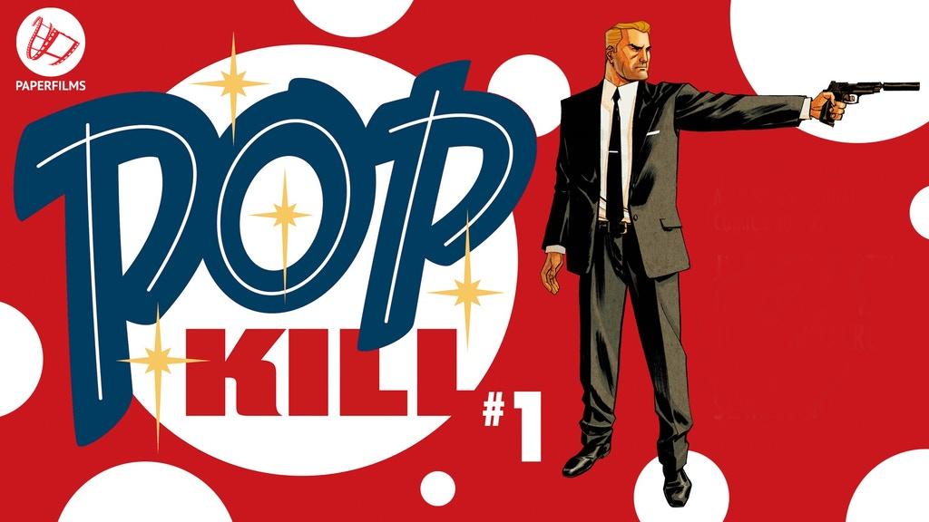 Kickstarting POP KILL with Creator Jimmy Palmiotti