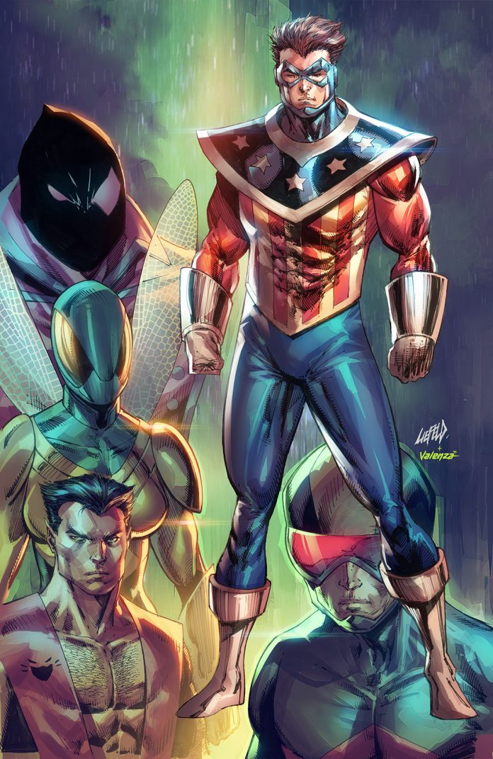 LIEFELD's SHIELD revamp flashes variant covers ahead of June release