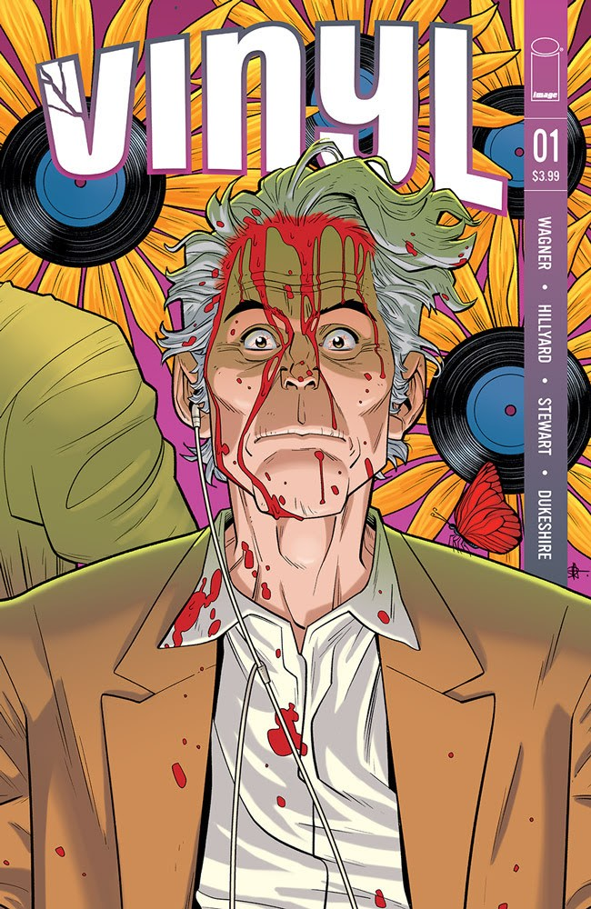 Doug Wagner and Daniel Hillyard spin horror/comedy comic VINYL at Image