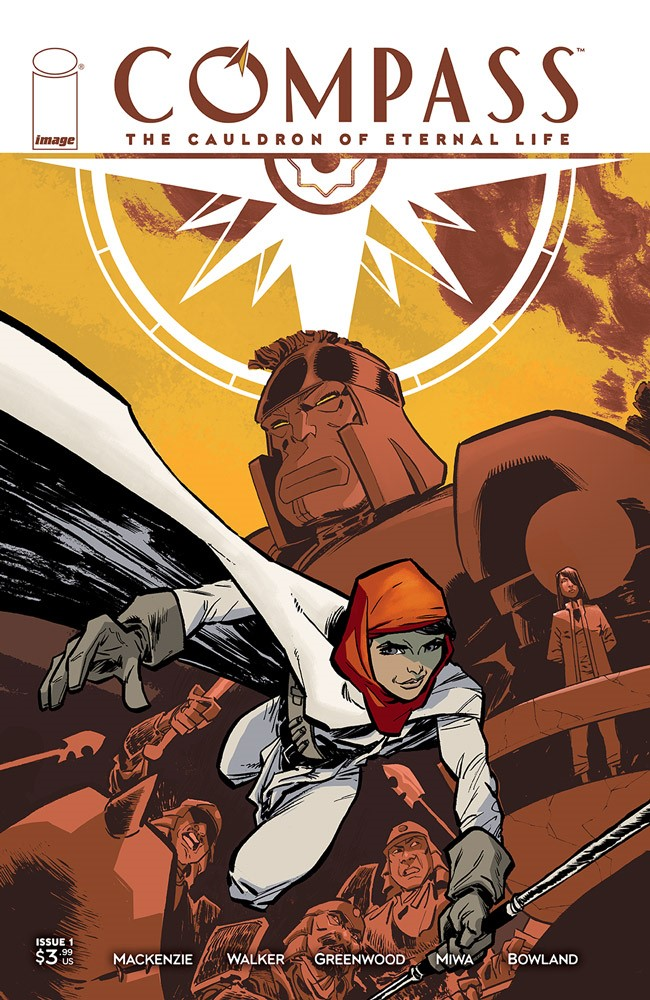 Mackenzie, Walker, and Greenwood's COMPASS charts new path this June at Image Comics
