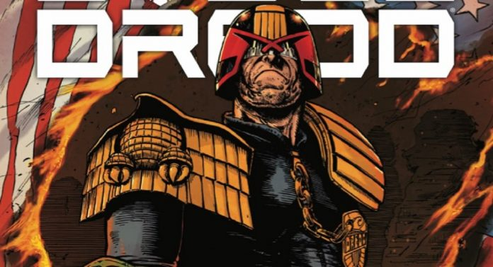 EXTENDED PREVIEW: JUDGE DREDD: END OF DAYS gives fans a little old school Dredd in one collection