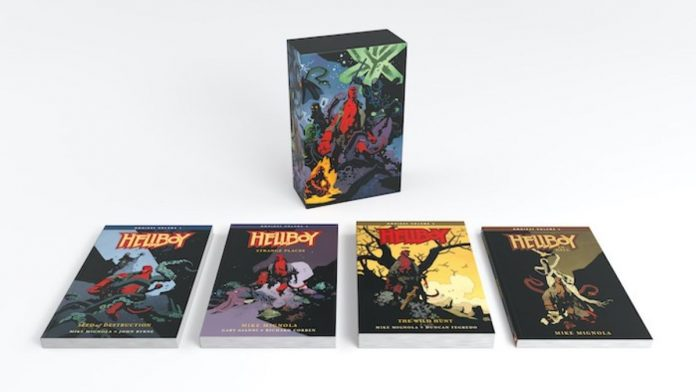 HELLBOY OMNIBUS BOXED SET and HELLBOY: HIS LIFE AND TIMES limited release fine art print announced