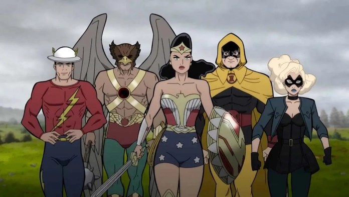 WonderCon '21: How a scrapped Wonder Woman animated series led to JUSTICE SOCIETY: WORLD WAR II