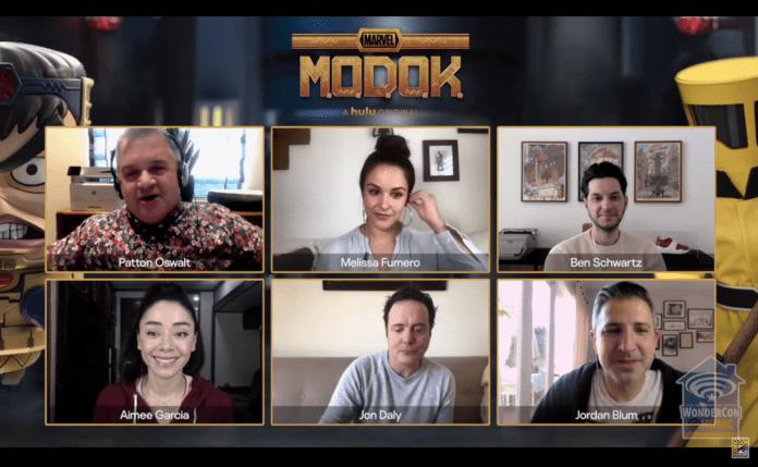 WONDERCON '21: Villains & HAMM at the MARVEL's M.O.D.O.K. panel