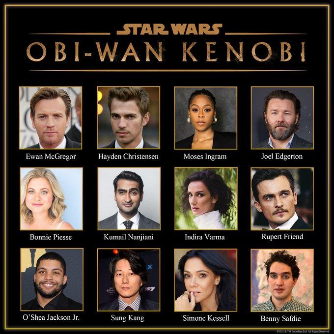 Hello there! OBI-WAN KENOBI cast unveiled