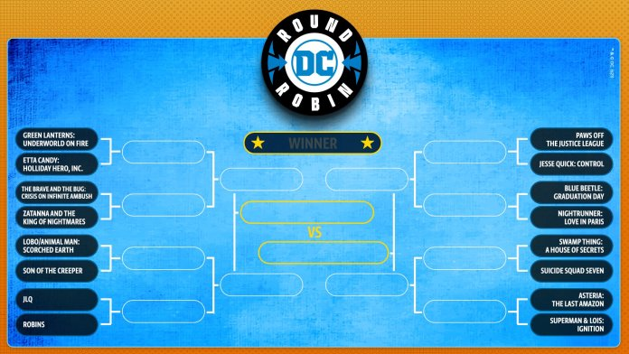 Vote for DC's next series in their own version of March Madness