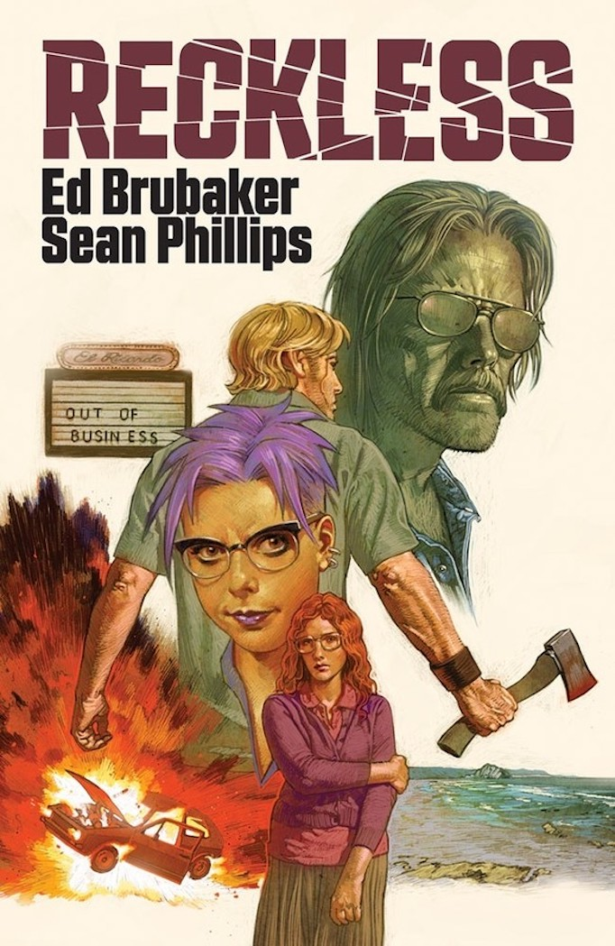 GRAPHIC NOVEL CLUB: Ed Brubaker on the superhero genre and its function in RECKLESS