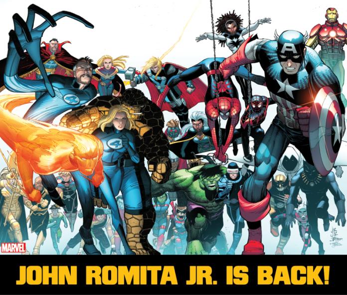 John Romita Jr. returns to Marvel in July