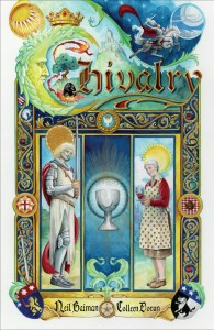 Colleen Doran gets out the paints for Neil Gaiman's Chivalry