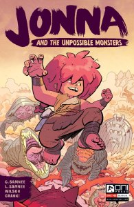 REVIEW: Chris & Laura Samnee's JONNA AND THE UNPOSSIBLE MONSTERS #1 is unpossibly fun