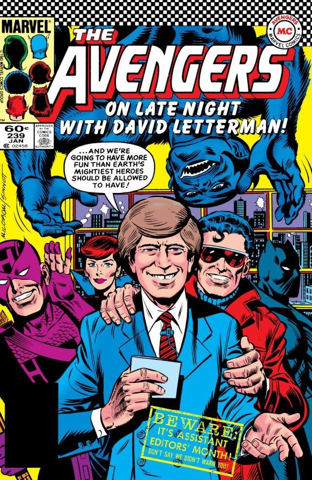 SILBER LININGS: David Letterman, Super-Merman, and Bat-Witch