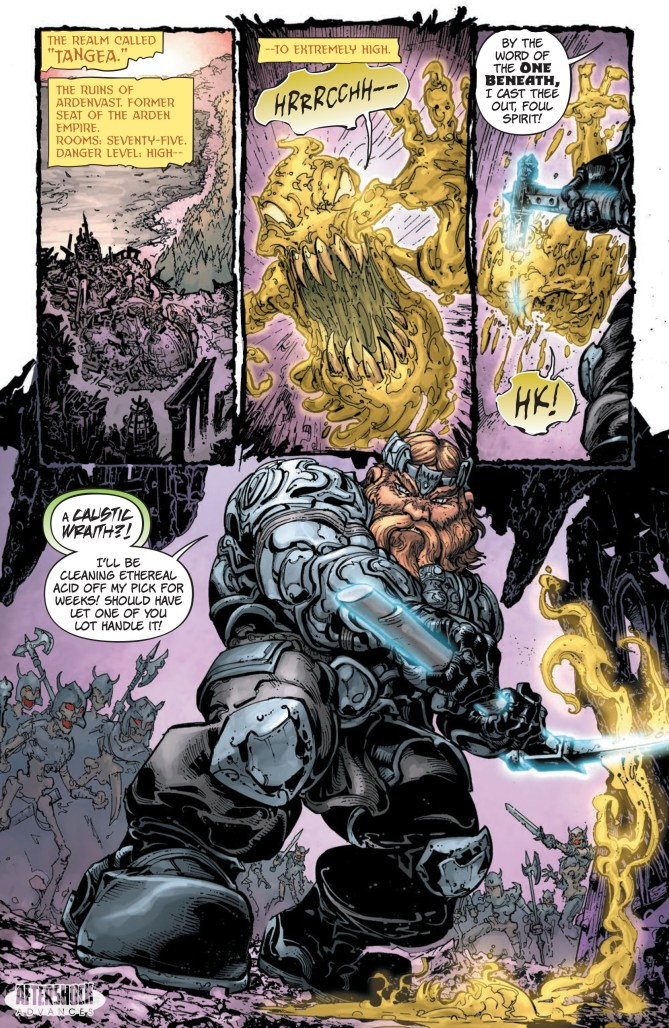 EXCLUSIVE: BEQUEST #1 combines high fantasy magic with…Chicago