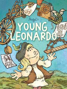 PREVIEW: Discover a burgeoning genius in Augel's YOUNG LEONARDO