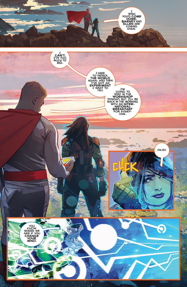 With REQUIEM, Mark Millar concludes JUPITER'S LEGACY