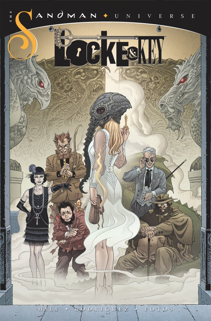 PREVIEW: LOCKE & KEY / THE SANDMAN UNIVERSE crossover HELL & GONE