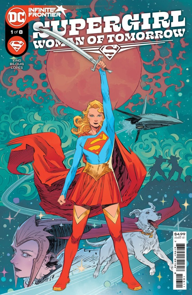 Tom King and Bilquis Evely team for SUPERGIRL: WOMAN OF TOMORROW