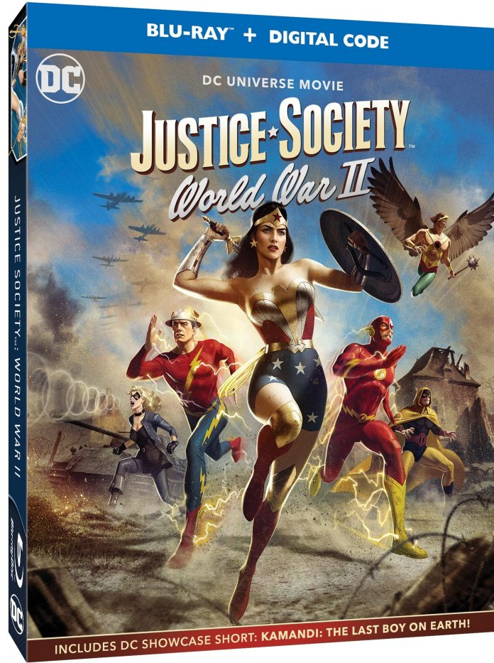 JUSTICE SOCIETY: WORLD WAR II panel set for virtual Wonder@Home