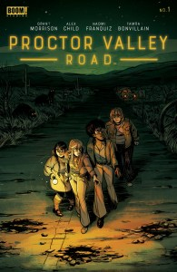 REVIEW: PROCTOR VALLEY ROAD #1 explores dark imaginations and 'real' monsters