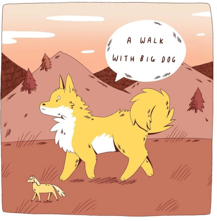 A Year of Free Comics: Take a deep breath with SMALL HORSE & DOG