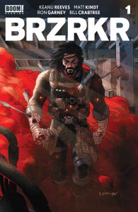 REVIEW: BRZRKR #1 is knee-deep in blood but not in story, yet