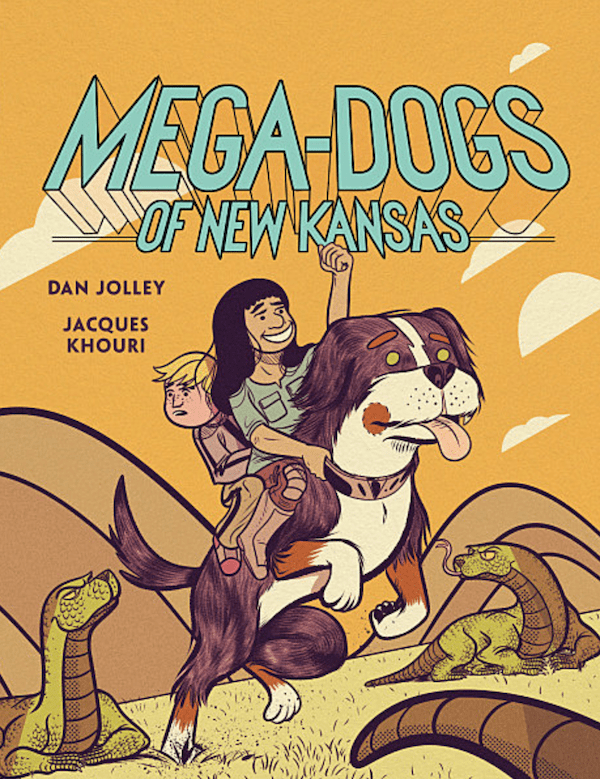 GRAPHIC NOVEL CLUB: The MEGA-DOGS OF NEW KANSAS team discusses audience control in comics