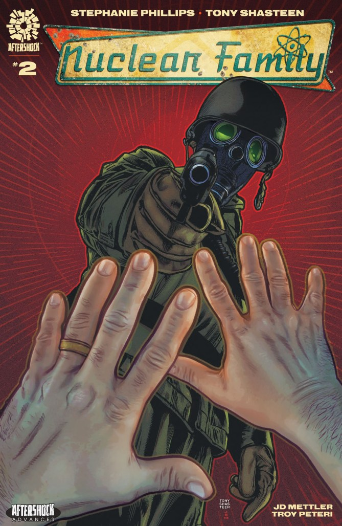 EXCLUSIVE: Dealing with literal fallout in NUCLEAR FAMILY #2