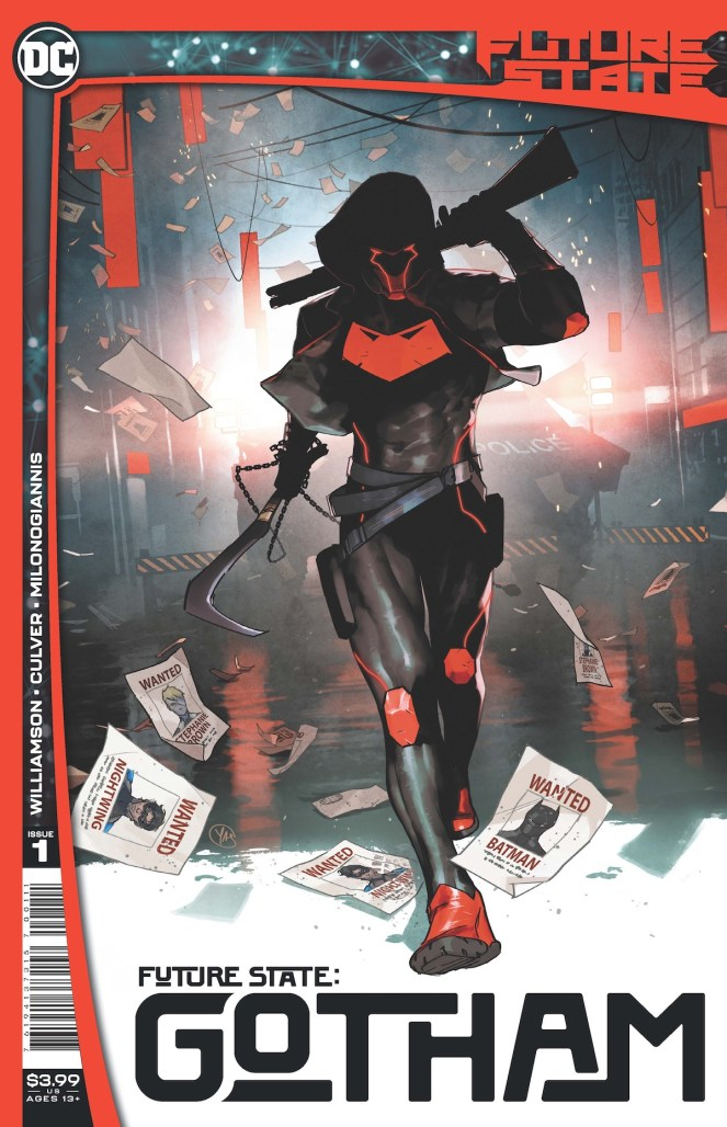 PREVIEW: Red Hood rides again in FUTURE STATE: GOTHAM #1