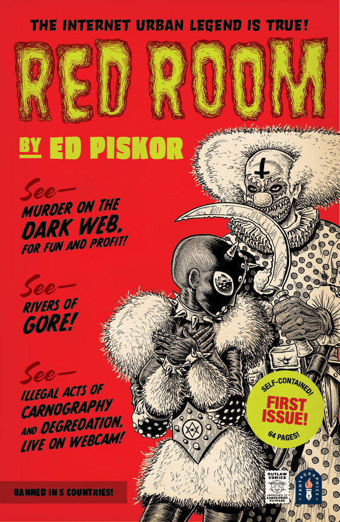 INTERVIEW: Ed Piskor brings horror and carnage to RED ROOM
