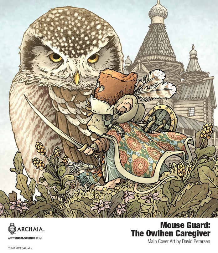 EXCLUSIVE: MOUSE GUARD returns with THE OWLHEN CAREGIVER