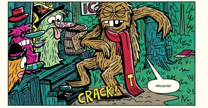 Exclusive Preview: Yo Gabba Gabba's Parker Jacobs Debuts Toobaloth Of Goon Holler