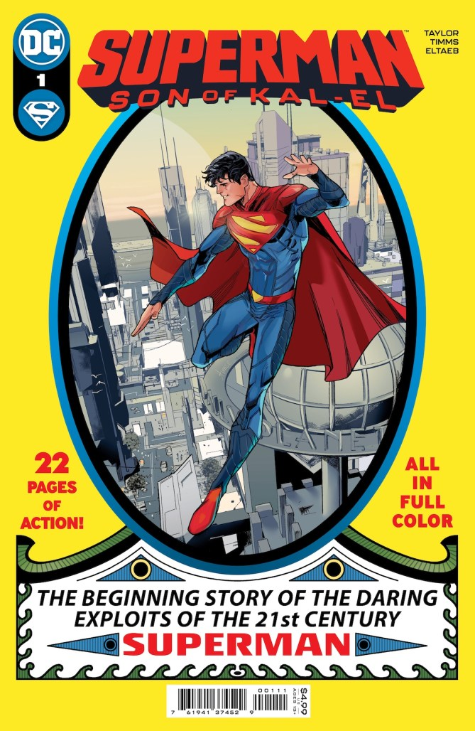 Taylor & Timms on SUPERMAN: SON OF KAL-EL, Morrison & Janín's SUPERMAN AND THE AUTHORITY coming in July