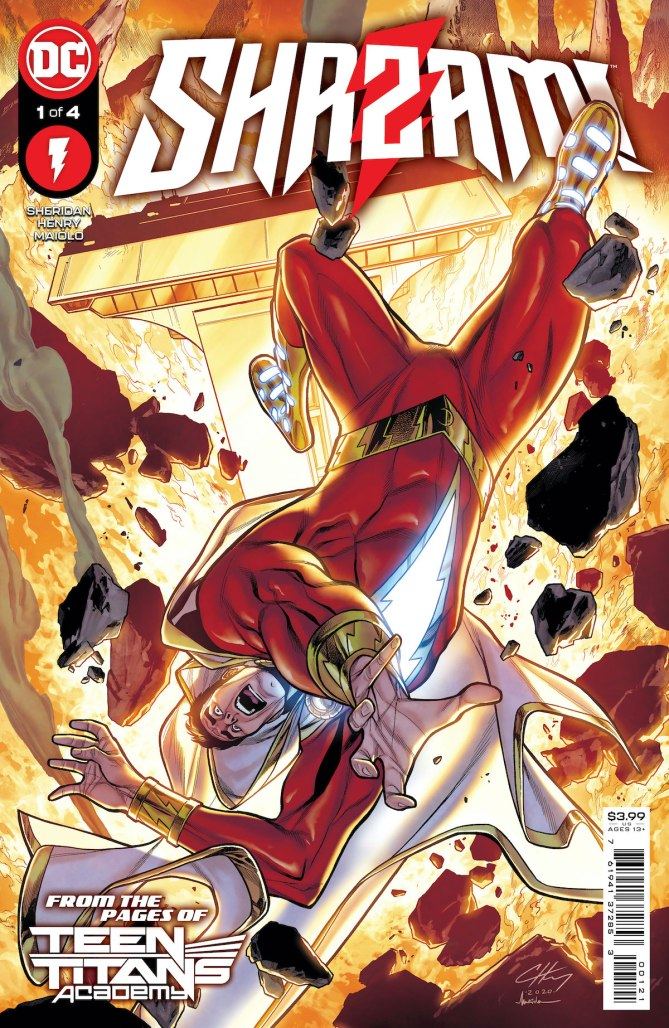 SHAZAM! gets new four-issue miniseries from DC