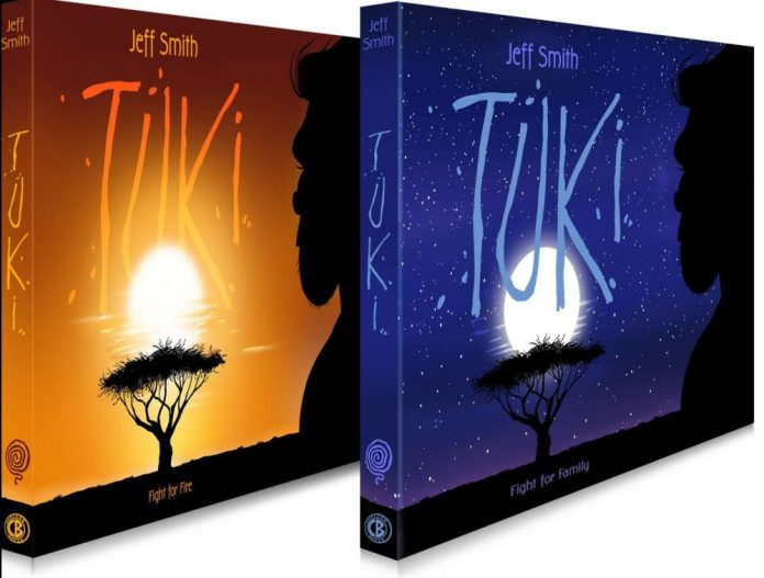 TUKI returns as Jeff Smith announces two graphic novels and a Kickstarter this May