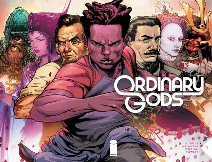 ORDINARY GODS from Kyle Higgins and Felipe Watanabe are coming from Image this July