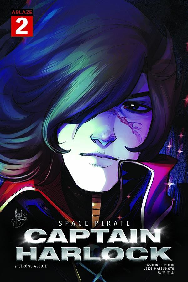 COVER REVEAL: Comics publisher Ablaze announces five variants for SPACE PIRATE CAPTAIN HARLOCK #2