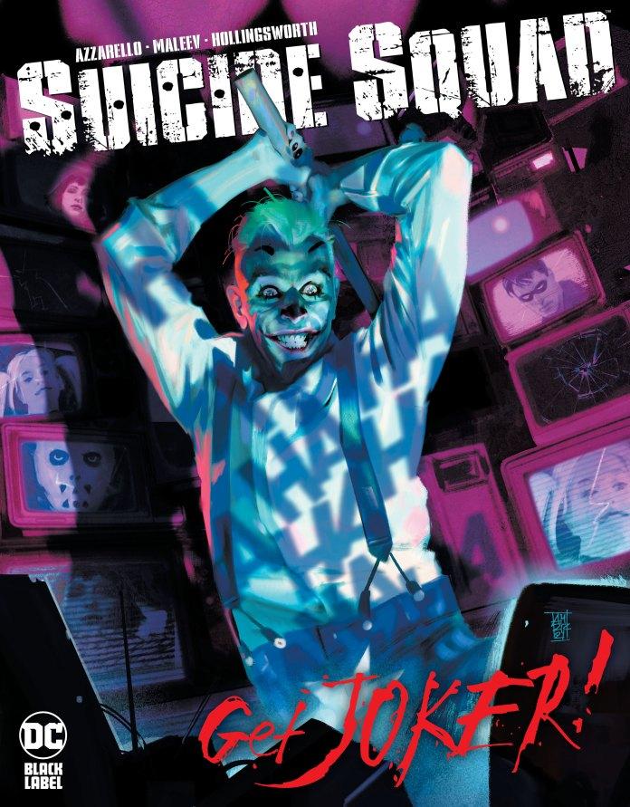 DC/Black Label announces SUICIDE SQUAD: GET JOKER! from Azzarello & Maleev