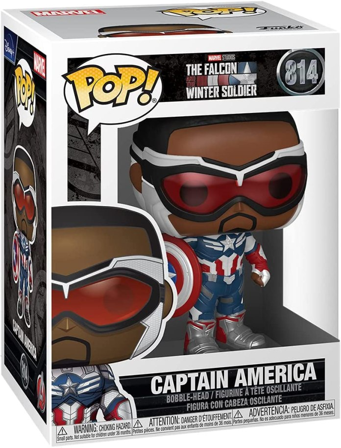 Sam Wilson takes flight as Captain America with new merchandise
