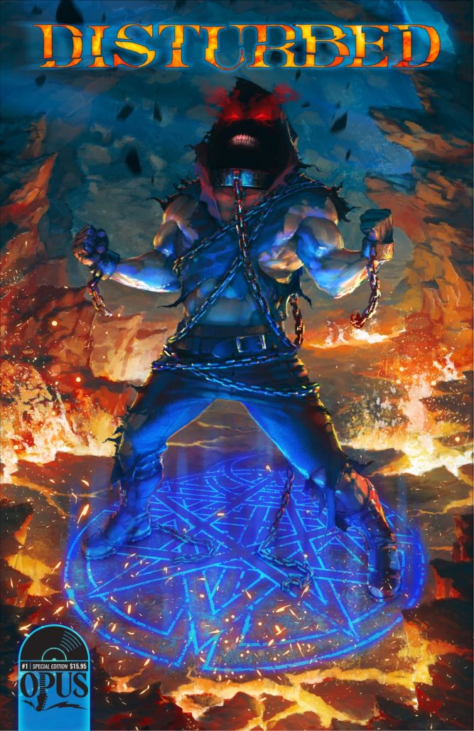 Disturbed, Incendium, and Heavy Metal team for DARK MESSIAH
