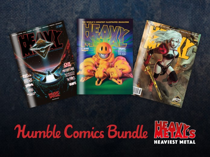 HEAVY METAL launches Heaviest Metal Humble Bundle to support The Hero Initiaitive