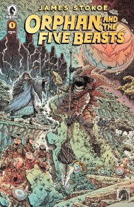 REVIEW: Another warrior quests for righteousness in ORPHAN AND THE FIVE BEASTS #1