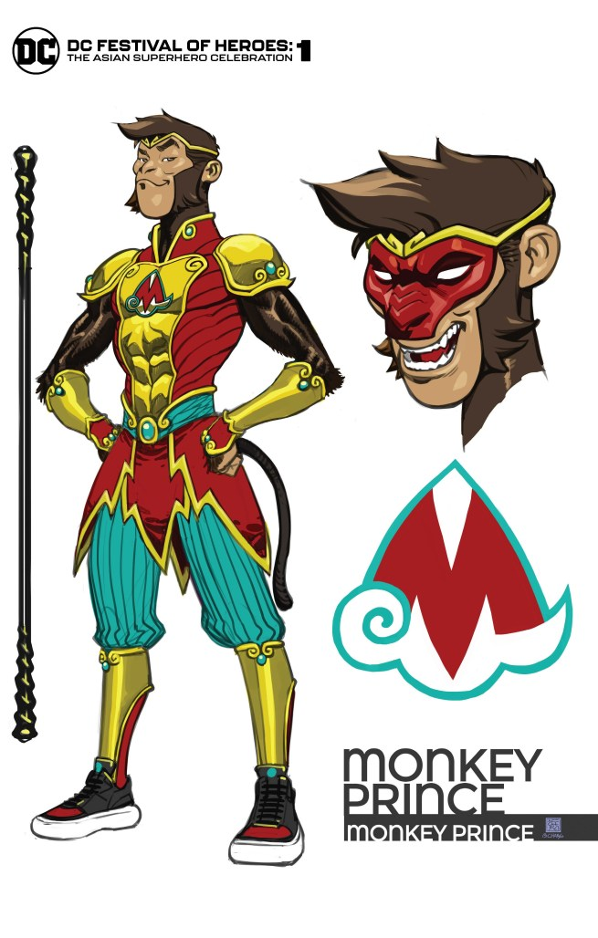 DC unveils Monkey Prince, rundown of stories & creators for FESTIVAL OF HEROES special