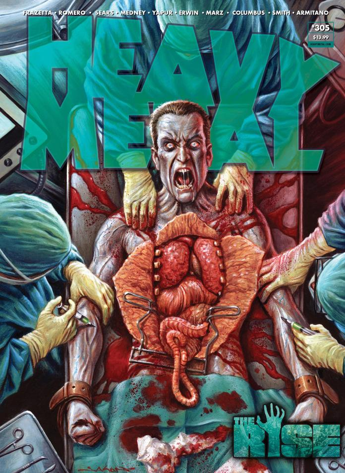 EXCLUSIVE PREVIEW: HEAVY METAL #305 debuts Ron Marz & Armitano's SWAMP GOD