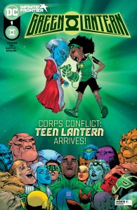 DC ROUND-UP: GREEN LANTERN #1 maps Oa's place in the Infinite Frontier