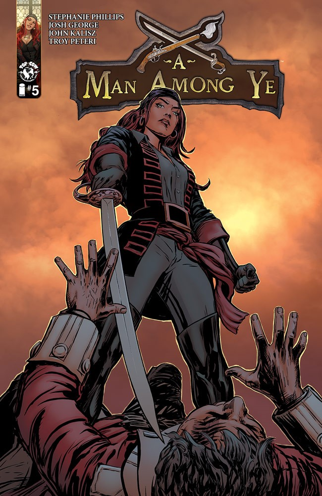Stephanie Phillips's A MAN AMONG YE returns with new artist Josh George for a second arc this summer