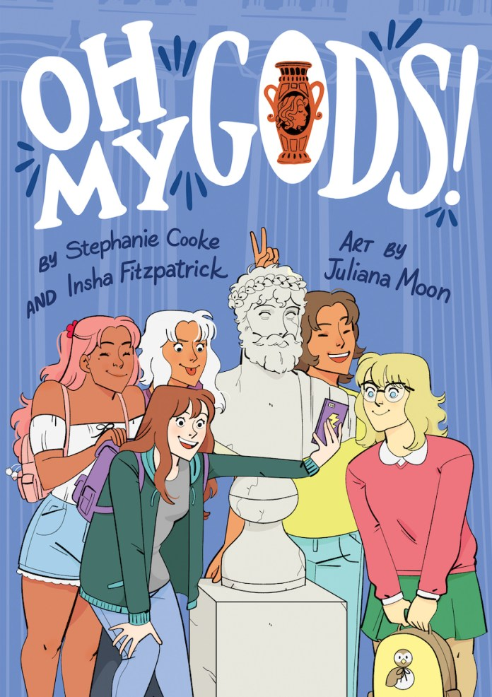 GRAPHIC NOVEL CLUB: The OH MY GODS! team on how to become a comics master