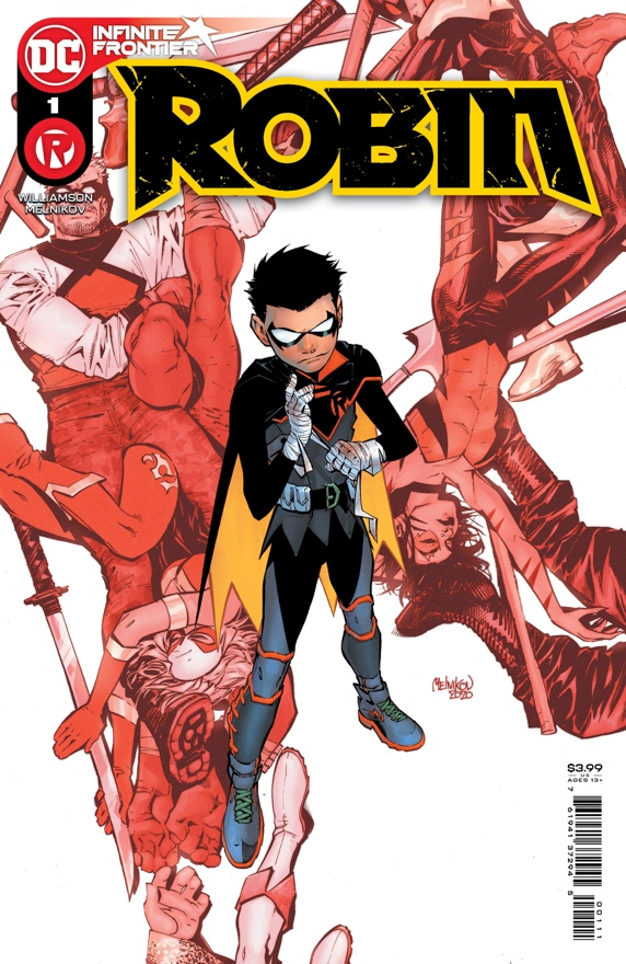 PREVIEW: Lazarus Island is unveiled in ROBIN #1