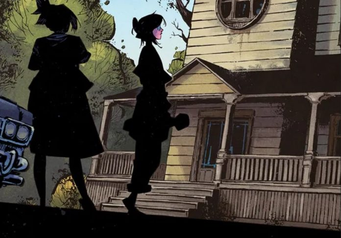 Young & Corona reteam for haunting new comic THE ME YOU LOVE IN THE DARK