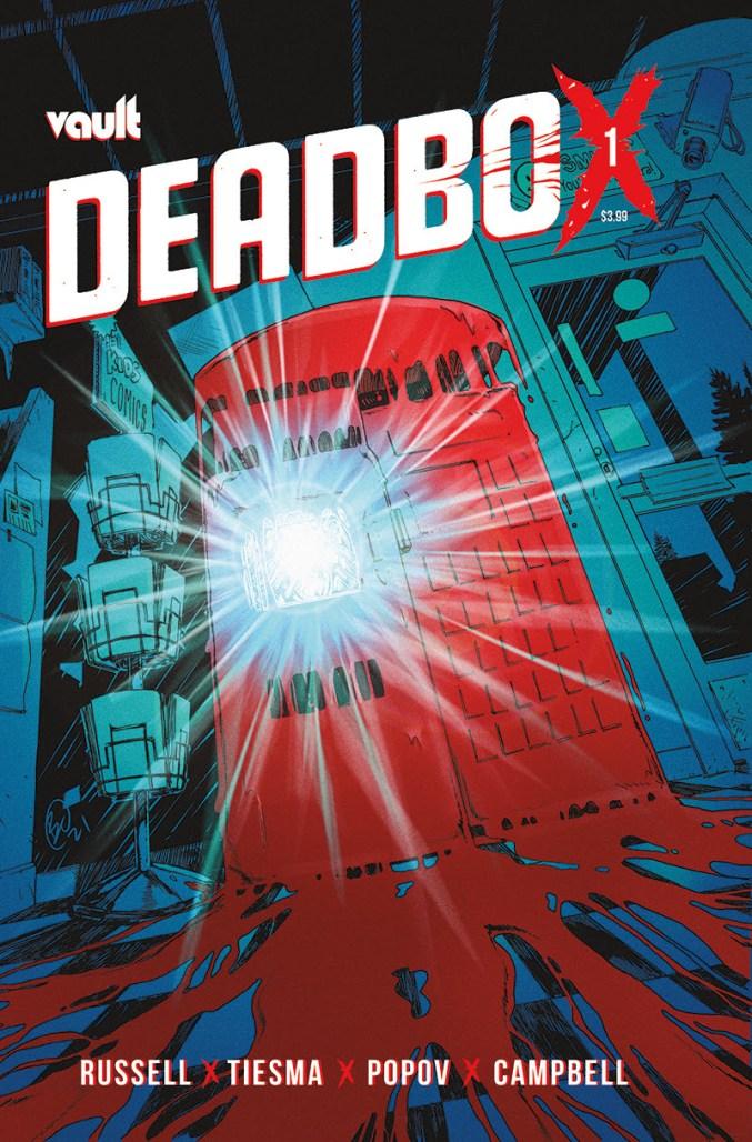 Vault teams up with Mark Russell, Benjamin Tiesma, and Vladimir Popov for DEADBOX