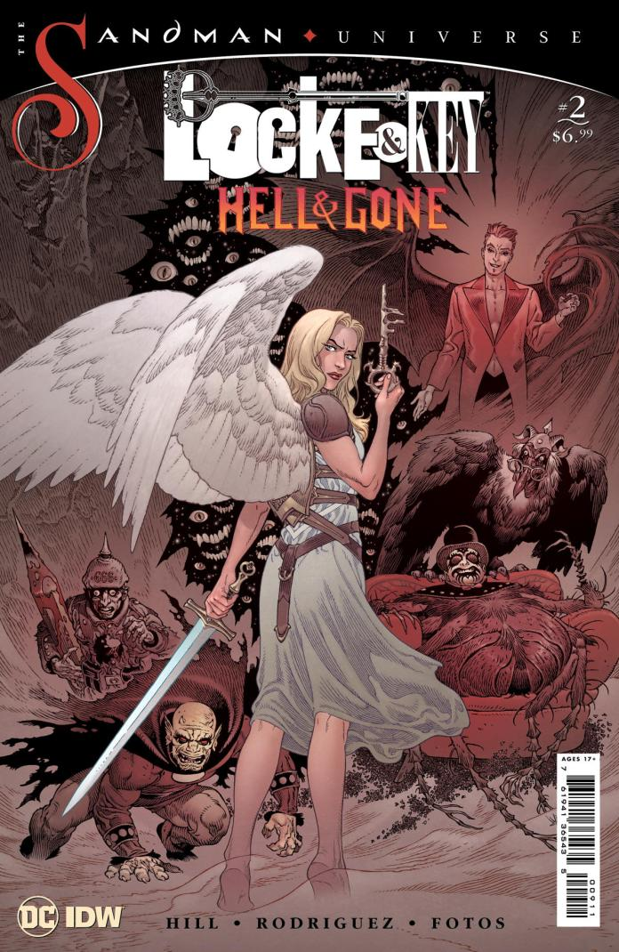 Revealed! The covers for LOCKE & KEY/THE SANDMAN UNIVERSE: HELL & GONE #2